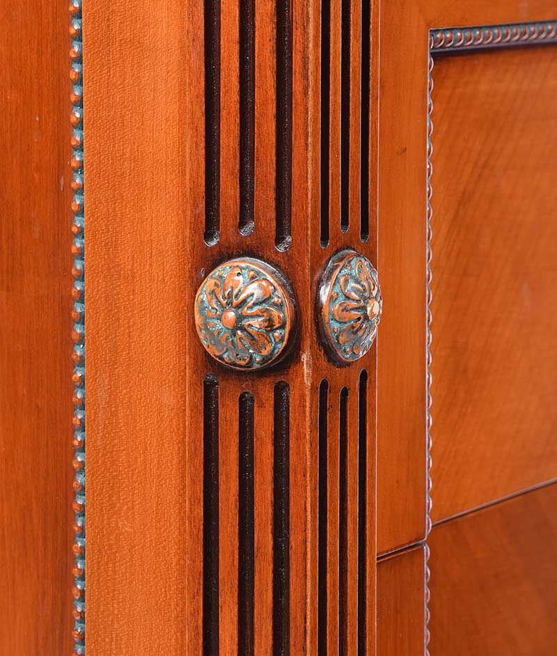 PAIR OF MAHOGANY BEDSIDE PEDESTALS at Ross's Online Art Auctions