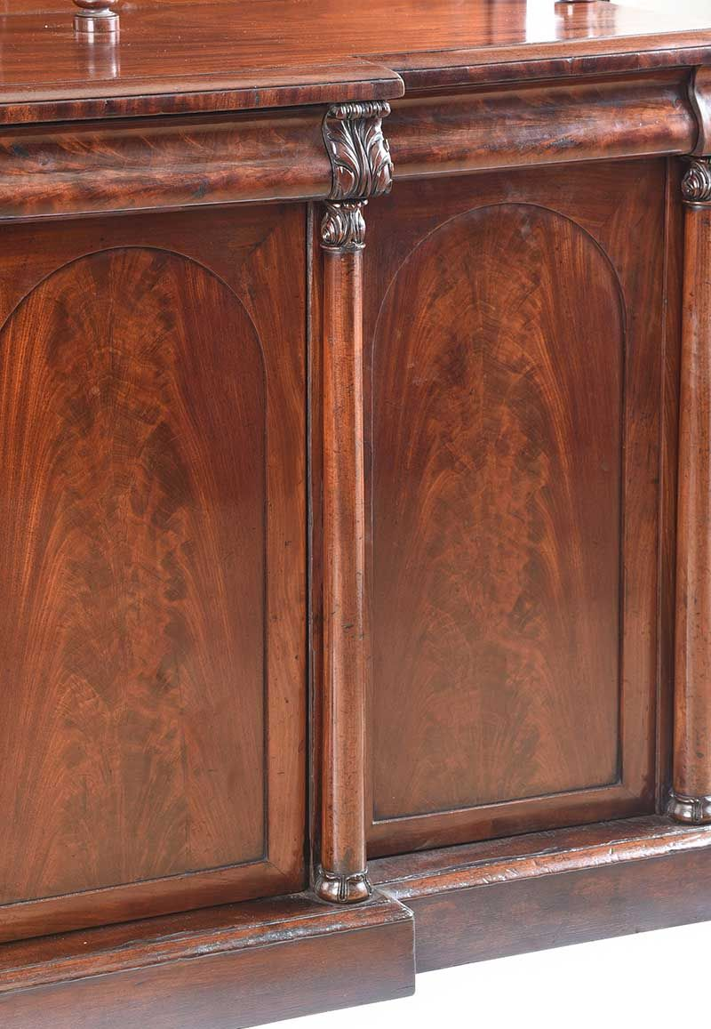 WILLIAM IV FOUR DOOR SIDE CABINET at Ross's Online Art Auctions