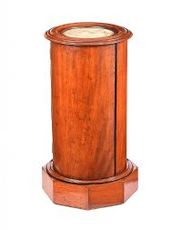 VICTORIAN MAHOGANY PEDESTAL at Ross's Auctions