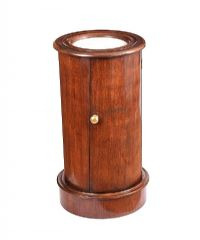 VICTORIAN MAHOGANY CYLINDER PEDESTAL at Ross's Auctions