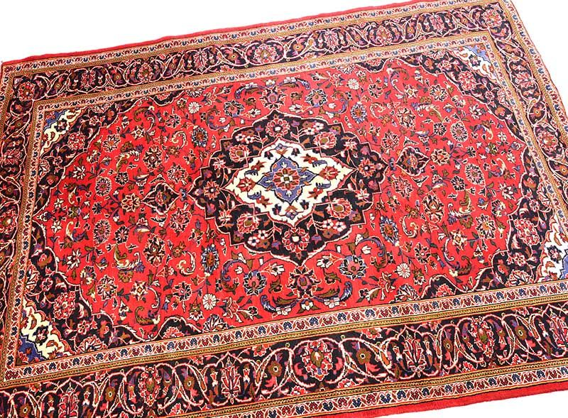 PERSIAN KASHAN RUG at Ross's Online Art Auctions