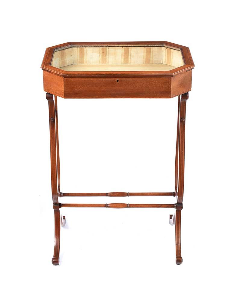 EDWARDIAN BIJOUTERIE TABLE at Ross's Online Art Auctions