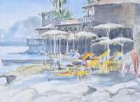 SUNBATHING, ITALY by Coralie de Burgh Kinahan at Ross's Auctions