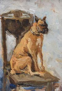 A DOG'S LIFE by Niklevitch at Ross's Auctions