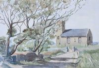 PARISH CHURCH, BALLINTOY by Nora Coulton at Ross's Auctions