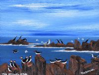 BIRDS FROM THE NORTH ATLANTIC by Patsy Dan  Rodgers at Ross's Auctions