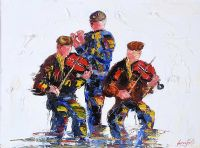 FIDDLES & FLUTE by Darren Paul at Ross's Auctions