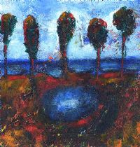 SHORELINE TREES by Fionnuala D'Arcy at Ross's Auctions