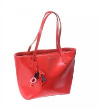 RADLEY RED LEATHER HANDBAG at Ross's Jewellery Auctions