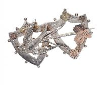 ANTIQUE STERLING SILVER BROOCH at Ross's Jewellery Auctions