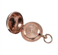 9CT ROSE GOLD ENGRAVED SOVERIGN CASE at Ross's Online Art Auctions
