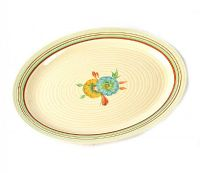 CLARICE CLIFF PLATE at Ross's Online Art Auctions