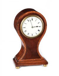 EDWARDIAN MANTEL CLOCK at Ross's Auctions