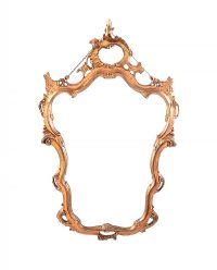 GILT WALL MIRROR at Ross's Auctions