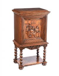 OAK DRINKS CABINET at Ross's Auctions