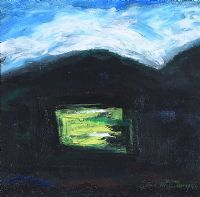 GREEN LIGHT IN THE DARK BOG by Sean McSweeney HRHA at Ross's Auctions