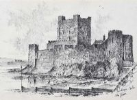 CARRICKFERGUS CASTLE by Colin Gibson at Ross's Auctions