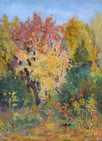 SUMMER TREES by Russian School at Ross's Auctions