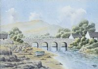 CUSHENDUN, COUNTY ANTRIM by Ursula Spry at Ross's Auctions
