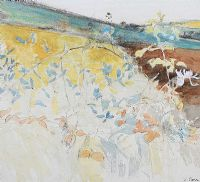 COUNTY DOWN LANDSCAPE by Tom Carr HRHA RUA RWS at Ross's Auctions