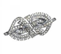 1930'S DUET CLIP BROOCH at Ross's Jewellery Auctions