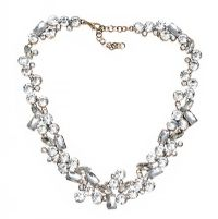 SILVER-TONE CRYSTAL-SET NECKLACE at Ross's Jewellery Auctions
