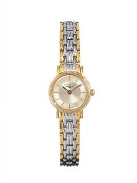 LONGINES GOLD-PLATED STAINLESS STEEL LADY'S WRIST WATCH at Ross's Jewellery Auctions
