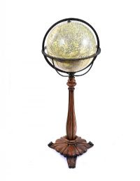GLOBE ON STAND at Ross's Online Art Auctions