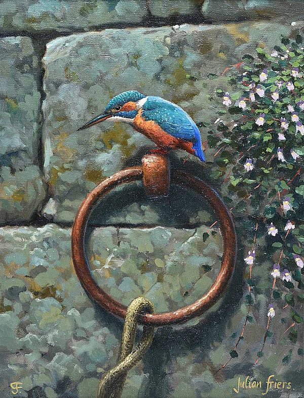 KINGFISHER by Julian Friers RUA at Ross's Online Art Auctions
