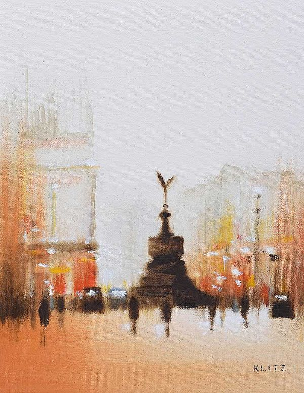 QUEEN VICTORIA MEMORIAL MONUMENT by Anthony Klitz at Ross's Online Art Auctions