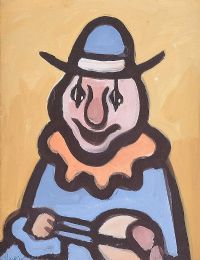 THE LEFT HANDED CLOWN by Markey Robinson at Ross's Auctions