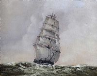 TALL SHIP AT SEA by Mike Furse at Ross's Auctions