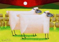 TWO SHEEP by Graham Knuttel at Ross's Auctions