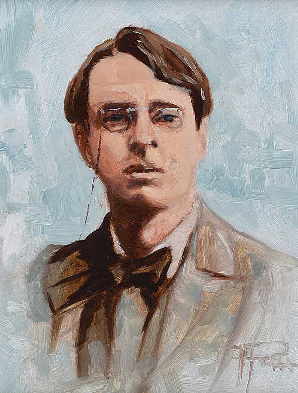 WILLIAM BUTLER YEATS by Thomas Putt at Ross's Online Art Auctions