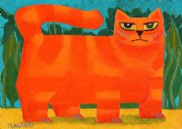 GARDEN CAT by Graham Knuttel at Ross's Auctions