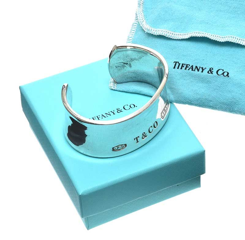 TIFFANY & CO. STERLING SILVER BANGLE at Ross's Online Art Auctions