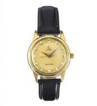 1960'S OMEGA SEAMASTER 18CT GOLD AUTOMATIC GENT'S WRIST WATCH at Ross's Auctions