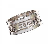 TIFFANY & CO. STERLING SILVER RING at Ross's Auctions