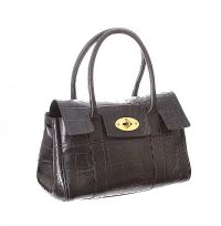VINTAGE MULBERRY BROWN LEATHER HANDBAG at Ross's Jewellery Auctions