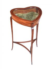 EDWARDIAN SPECIMEN TABLE at Ross's Auctions