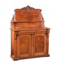 VICTORIAN MAHOGANY CHIFFONIER at Ross's Auctions