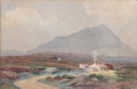 MUCKISH, DONEGAL by Joseph William  Carey RUA at Ross's Auctions
