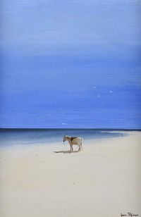 HORSE BY THE SHORE by Gavin Fitzsimons at Ross's Auctions