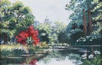 MOUNT USHER, WICKLOW by Rosemary Bedell at Ross's Auctions