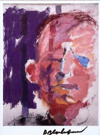 TRAVELLER'S HEAD II by Basil Blackshaw HRHA HRUA at Ross's Auctions