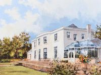 MALONE HOUSE, BELFAST by Colin Gibson at Ross's Auctions