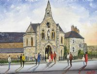 HOLY CROSS CHURCH, DUNDRUM by Darren Paul at Ross's Auctions