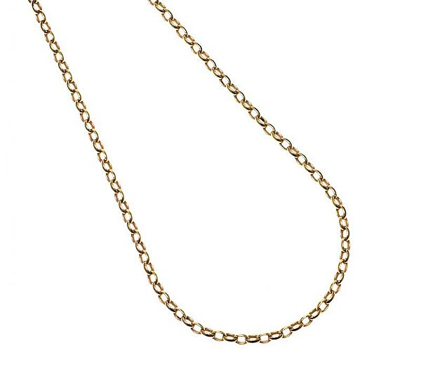9CT GOLD CHAIN at Ross's Online Art Auctions