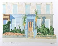 THE HOUSE WITH THE PALM TREES, BELFAST by James Allen RUA at Ross's Auctions