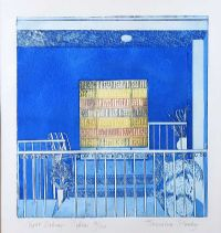 NIGHT BALCONY, PAPHOS by Jacqueline Stanley HRHA at Ross's Auctions